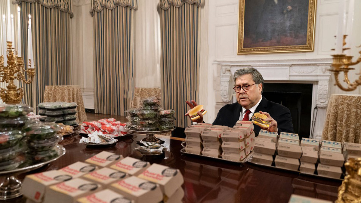 Barr cheeseburger